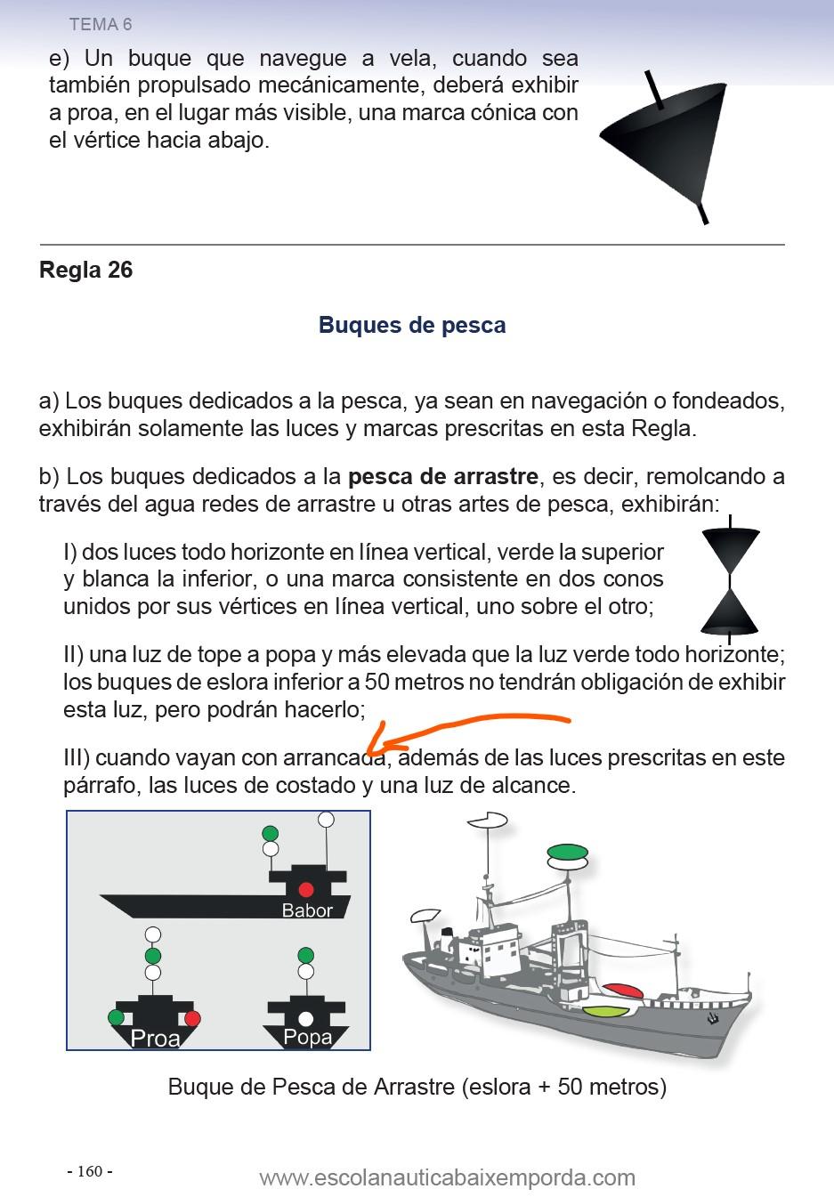 Luces de buques de pesca